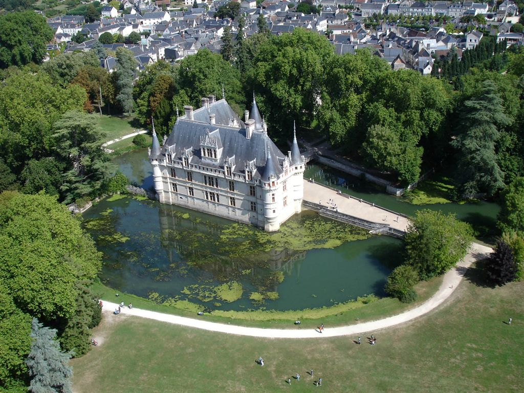 Association pour ailes - Visite chateau azay le rideau ...